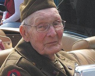 Walter Watson of Hanoverton was one of the grand marshals of the Johnny Appleseed Parade in Lisbon in September. He is a veteran of World War II, having served in the U.S. Army in the 82nd and 101st. The photo was submitted by his daughter, Cindy Stoughton.