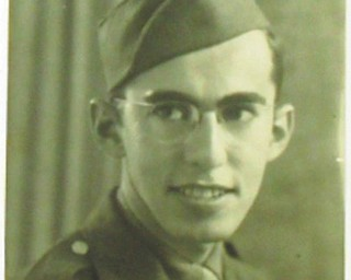 Allen L. Wolkoff, originally from Warren but who now lives in Youngstown, served in World War II in the U.S. Army 332nd Engineers for a total of 38 months. He received five Bronze Stars. This is a photo from his Army days submitted by his daughter, Elyse Silverman of Youngstown.
