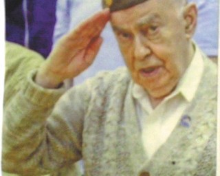 Elyse Silverman of Youngstown also sent in this photo of her favorite veteran, her father, Allen L. Wolkoff, who is 92. This photo was taken last year at the Liberty High School Veterans Day program and appeared as part of this year's Snapz promo.