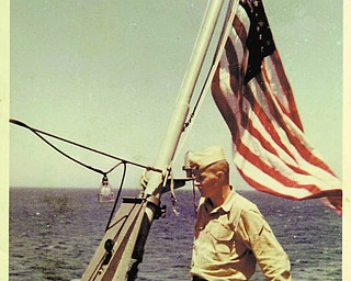 Sgt. William R. Smith of Youngstown served in the U.S. Marine Corps from 1962 to 1967. His wife, Veronica, sent in this photo of Smith taken on board the USS Vermilion off the coast of Greece when he was still a private first class. Smith served in Vietnam in 1965 and 1966.