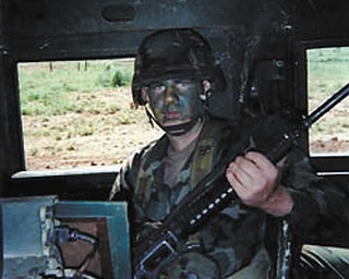 Josh Upright of Youngstown served in the Military Police from 1997 to 2000. He is the son of retired Army Sgt. Les Upright of Westfield, Mass., and Sheree Savon of Youngstown.