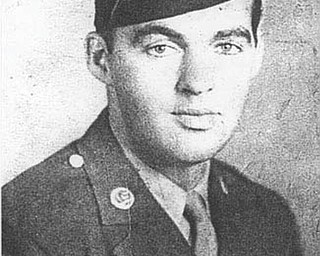 Doreen Connelly of Boardman submitted this photo of her dad, Thomas Golubich, a Uniontown, Pa., native who served from 1931 to 1945 in the U.S. Army. Golubich, a Technical Sergeant, moved to Youngstown in 1946.