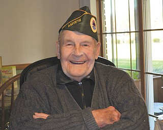 Michael Kopanic of Youngstown, who is 93, served in the U.S. Army with the 39th Combat Engineers from 1942 to 1945 during World War II.