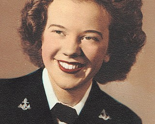 Margaret (Whittekin) Aiello, 88, who is a resident of Victoria House Assisted Living in Austintown, served in the Navy Waves from 1944 to 1949. Photo was submitted by Donna Eusanio.