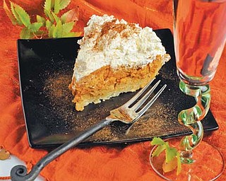Thanksgiving is just around the corner and it's time to shake things up with a new twist on our favorite autumn flavors such as a three-layer pumpkin pie.