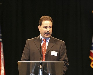 Martin Abraham PHD Dean of Stem College announces the new program at YSU