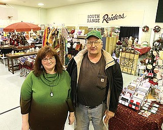 Michelle Au and Ed Schaefer Sr. are optimistic that more businesses will move into The North Lima Business Complex. Au is building manager and runs the daily operations at A Crafting Affaire. Schaefer co-owns all three of the former South Range school buildings with John Munroe.