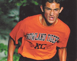 This picture of Mikey Guerrero was taken Aug. 30, 2011, as he is coming up Bill Goat Hill in McDonald.