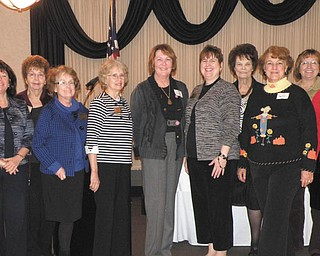 The League of Women Voters of Greater Youngstown's Education Committee comprises, from left, Kathleen Dragoman, Barbara Brothers, Corliss Green, Marcellene Hawk, Dorothy Kane, Ilona Labusch and Norma Anderson. Committee members Deb Mathews and Kim Poma are not pictured. The group studied issues in education and presented a membership consensus to the League of Women Voters of Ohio. LWVGY's annual brunch will take place Jan. 14. The members-only event will offer half-price memberships at the door. Those who attend will have a look at the coming legislative session and an opportunity to meet officeholders at state and national levels. The brunch will be served at the Youngstown Club, 201 E. Commerce St., Youngstown. Registration from 10 to 10:30 a.m. will be followed by brunch and legislative updates. The cost is $15, and reservations are to be made with Karen Lazarus at 330-788-8946.
