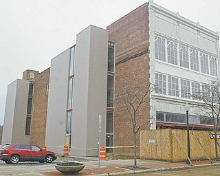 The Mahoning Valley Historical Society has raised about $4.5 million of the $6 million needed to complete the renovation of the former Harry Burt Building on West Federal Street in Youngstown. The building, now named the Tyler Mahoning Valley History Center, is scheduled to open this fall as a historical-themed community center.