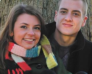 Megan Cartwright and Tom Key