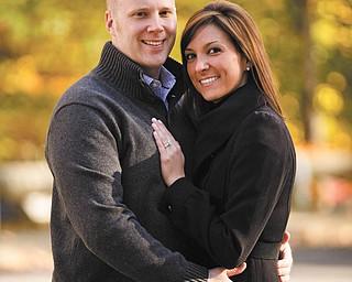 Brad Palmer and Gina Dowell
