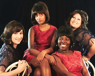"Top Hat Productions' ""57th Street"" stars, from left, Tiff any Sokol, Arianna Manigault, Jocelyn Bolling and Gina Villa."