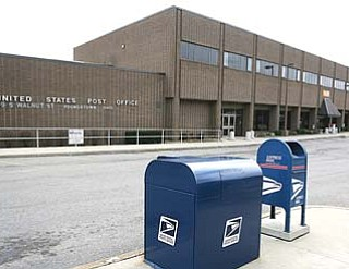 The U.S. Postal Service will close mail handling and distribution operations at the Youngstown Post Office on South Walnut Street.