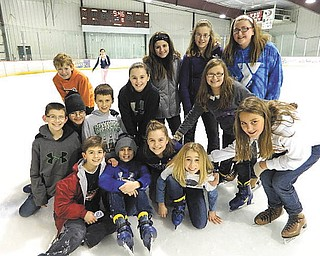 Holy Family School in Poland recently celebrated Catholic Schools Week in a really cool way. Fifth-grade students who enjoyed some time on the ice at The Ice Zone in Boardman are, from left to right, front row, Anthony Formichelli, Nico Marchionda, Angelina Sabatino, Aidan McDanel and Paige Brockway; middle row, Blake DelSignore, James Maruca, Stephen Babik, Katherine Kali and Jayda Benson; and back row, Luke Stoeber, Simone Izzo, Hannah Balash and Isabella Massaro-Suchora.