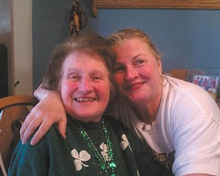 Sandy Rossi sent in this photo of her and her mother, Mary Ann Patrick. She says her mom has always been her best friend.