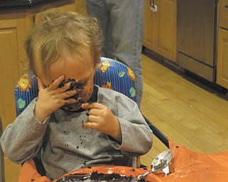 Some days, you've just got to have your cake. Eating it is optional. Photo sent in by Rosemary Hart.