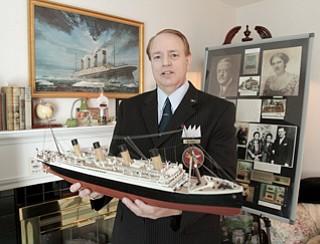 ROBERT K. YOSAY|THE VINDICATOR...Frank Rendes and his Titanic memorabilia   - E. Liberty St., Girard ...-30-