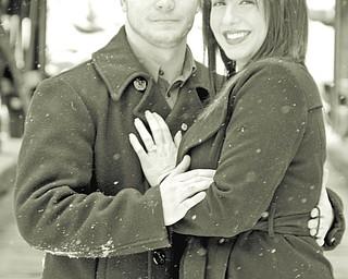 Lee Keck and Alaina Cardon