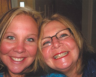 """Patience, grace and love are three things that Sabrina Eaton learned from her """"first and favorite friend,"""" her mother, Beth Schutz. Both are from Canfield."""