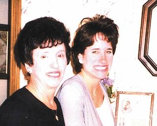 """Rhonda Wilhelm of Boardman says she appreciates now that her mother, Catherine Hamrock of Austintown, loved her enough as a child to instill religious values, make her do chores and restrict her dating age. Rhonda calls her mother """"a gift to those who know her."""""""