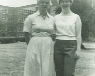 Sylvia Takash of Vienna sent in this photo from 1961 of her and her mom, Bertha McAnally of Youngstown. An only child, Sylvia said her mom was her dearest friend whom she misses terribly.