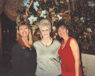 """A cancer survivor, JoAnn Carissimi, mother to Carla (left) and Deborah Carissimi, all of Boardman, """"... still manages to grow the most beautiful flowers in her gardens and creates the most beautiful artwork,"""" says Deborah."""