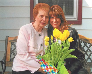 """Darlene Schuller of Youngstown calls her mom, Diane Schuller, also of Youngstown, her Angel Mom. Darlene said her mom has """"never lived one day selfishly"""" and now cares for her husband of 51 years."""