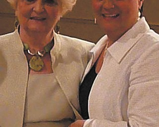 """After health issues affected her mother's ability to communicate, Jackie Giambattista of Canfield says her mother, Jean Orland of Boardman, still loves to talk and has kept smiling through it all. """"She is my inspiration,"""" Jackie says."""