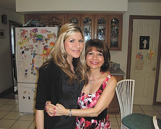"""Cherishing a bond that grows stronger year by year, Kristin Nespeca says she knows when her mom needs an """"I love you more"""" text message or an extra hug, and her mom knows when Kristin needs to sit and talk or just cry."""