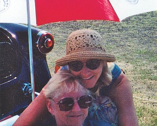 Here are Pam Baytos of Berlin Center and her mother, Barb Roessler of Austintown, enjoying some time outdoors.