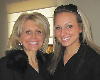"""""""Thank you, Mom, for your untiring faith, your forgiving heart and the love you show to me and everything around you every day,"""" writes Katie Olenick about her mother, Faith Olenick. Both are from Canfield."""