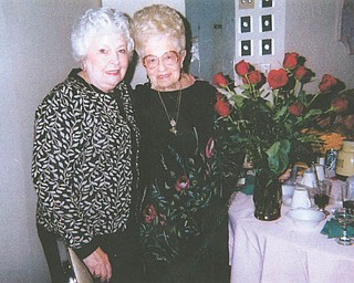"""""""We live so far apart, but everyday she is in my mind or my heart,"""" says JoAnne Fajack of Youngstown, about her beloved 97-year-old mother, Maryann Pallante of Alvarado, Texas."""