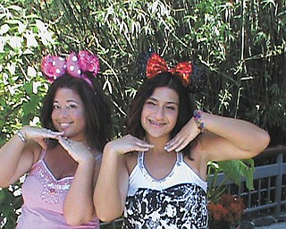 """Gabriella Forde had wanted to go to Walt Disney World ever since she was a little girl. This photo of her and her mom, Maggie Forde, makes her smile because it's when her dream came true. They are at the Magic Kingdom. Gabriella says her mom calls her """"Minnie Me."""" They live in Girard."""
