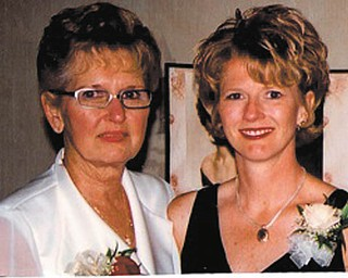"""""""My successes are in large part due to her lifelong guidance,"""" Melissa Tanferno of Medina says of her mother, Val Wilthew of Canfield."""