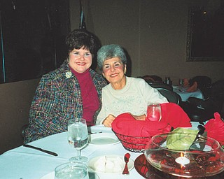 """""""Frick and Frack"""" are what Karen Morris and her mother, Jean Dutko, are called by Karen's son. Karen has moved in with her mother at various times to face challenges together. Karen calls her """"my true anchor."""" Both live in Liberty Township."""