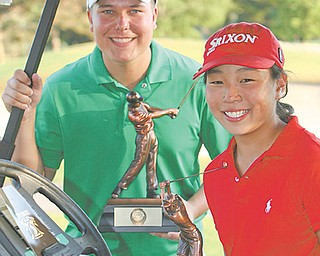 July 31, 2011, James LaPolla and Jacinta  Pikunas, winners of The Vindicator's 2011 Greatest Junior  Golfer of the Valley tournament at Trumbull Country Club. The event this year tees off on May 20 and has grown from three qualifying rounds to six.
