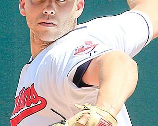 Cleveland starting pitcher Justin Masterson