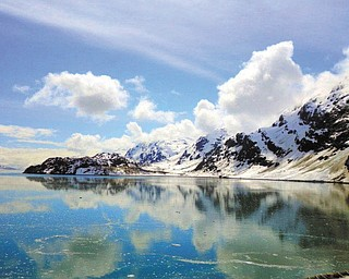 """Sunny Osman sent in this photo and this comment: """"I took this picture in Glacier Bay, Alaska. It was the most beautiful place I have ever traveled to."""""""