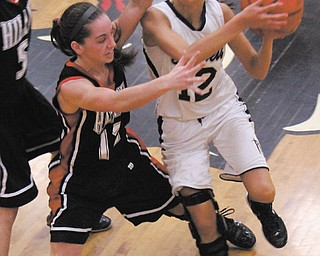 When Lowellville's Taylor Hvisdak (12) was a young girl, she dreamed of playing basketball for Youngstown State University. On Monday, YSU announced Hvisdak as one of three new recruits for the 2012-13 season, giving her the chance at her dream.