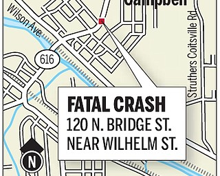 Location in which a minivan lost control and flipped over, throwing its passengers into the road.