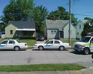 A man identified as Dion Weatherspoon, was found shot to death in the 200 block of Hilton Avenue on the city's South Side late this morning.