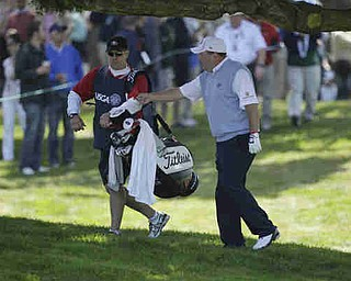 Dennis Miller during the first round of the U.S. Open Championship golf tournament Thursday, June 14, 2012, at The Olympic Club in San Francisco. (AP Photo/Ben Margot)