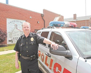 Chief Robert Floor, a 30-year veteran of the Salem Police Department, recently announced his retirement  effective Feb. 1. Among his accomplishments, Floor said he is proud to have upgraded and modernized the department's computer system and, along with the department's administrative lieutenant, to have brought evidence procedures up to date.