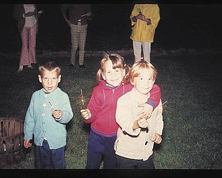 This photo, submitted by Janet Misel, was taken 40 years ago at a Fourth of July picnic at the home of her grandparents, Larry and Mildred Varner. The children are Janet's brother, Jim Misel, Janet and their cousin, Dave Olsavsky.