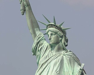 This photo of the Statue of Liberty was taken during a visit to Ellis Island on the ferry tour in New York City. It was sent in by Mike Krakora of Girard.