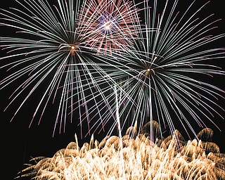 Here's a shot of fireworks sent in by Leanne Lee of Girard.
