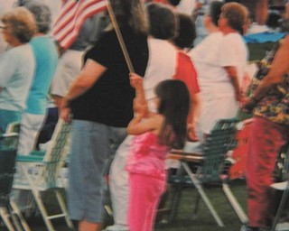 This photo was taken at a Fourth of July celebration at Westminster College and submitted by J. Ferrett of Hubbard.