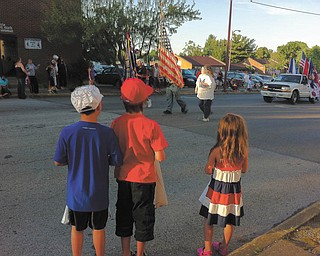 Augustine Lamonge sent in this photo of Jake, Will and Kate at the Niles parade.