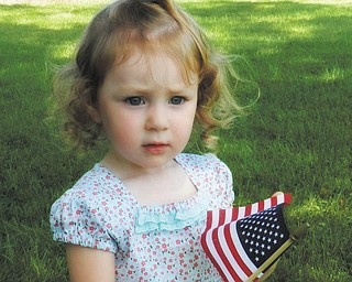 Cathy Hoover sent in this photo of her granddaughter Trinity Kale, taken July 4, 2011.